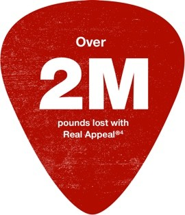 Over 2M pounds lost with Real Appeal - footnote 4